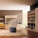Minimalist modern yatak odası dekorasyonu