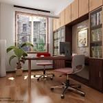 küçük home ofis dizaynları