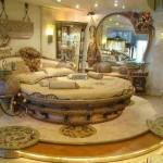 klasik şık yatak odası ebeveyn odası
