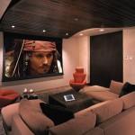 sinema odası dekorasyonu örneği
