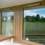 ahşap görünümlü pcv pencere ve kapı modelleri